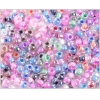 Ponybead 6/0 Color Lined Crystal 6/0 Mix